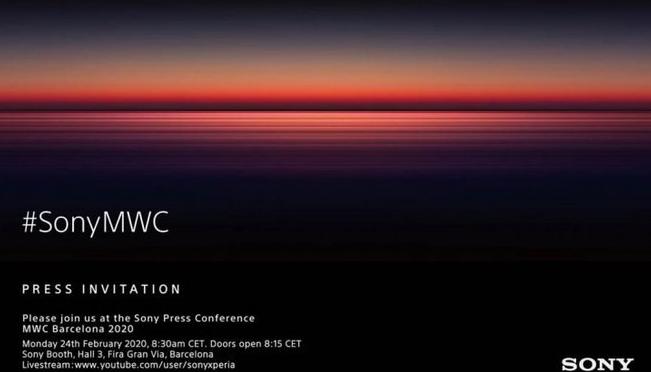 索尼为下一次Xperia发布活动设定日期