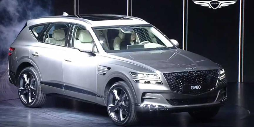 创世纪GV80终于作为世界上最新的豪华SUV亮相