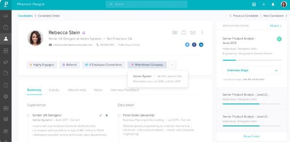 Phenom People为微软等公司使用的AI招聘平台筹集了3000万美元
