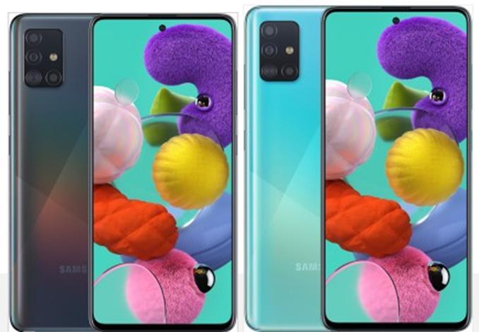 三星开始在欧洲销售Galaxy A51