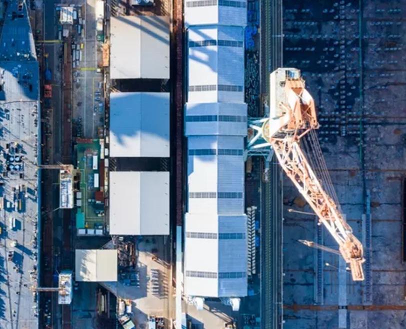 新港新闻造船公司与威瑞森合作 利用5G超宽带改善造船工艺