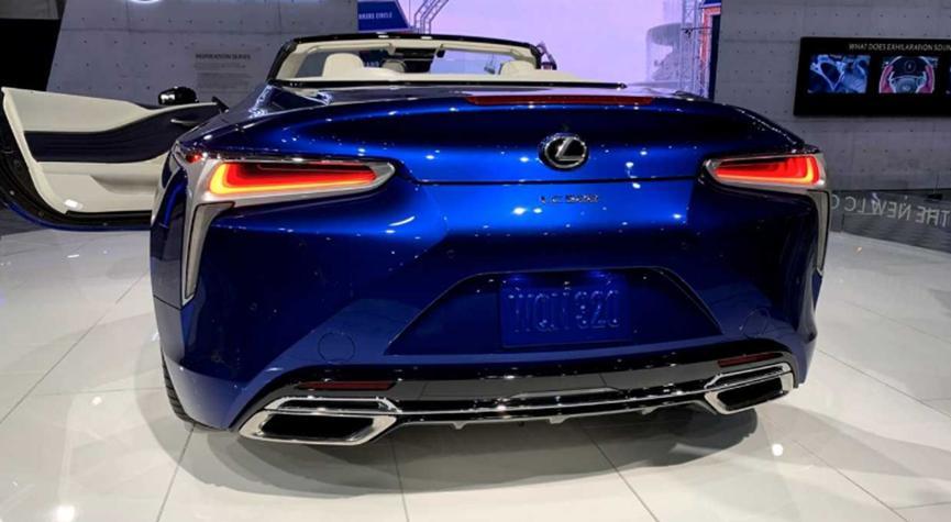 新型V8驱动的雷克萨斯 LC 500敞篷车售价200万美元