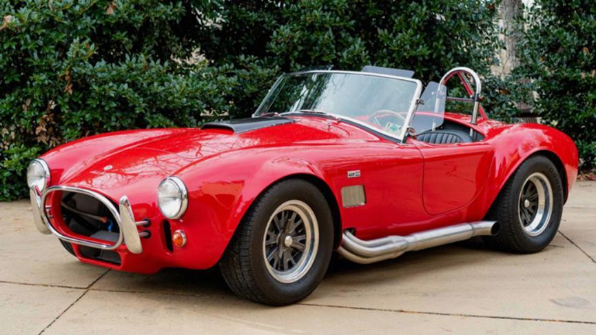 1965年谢尔比眼镜蛇4000跑车售价126,500美元
