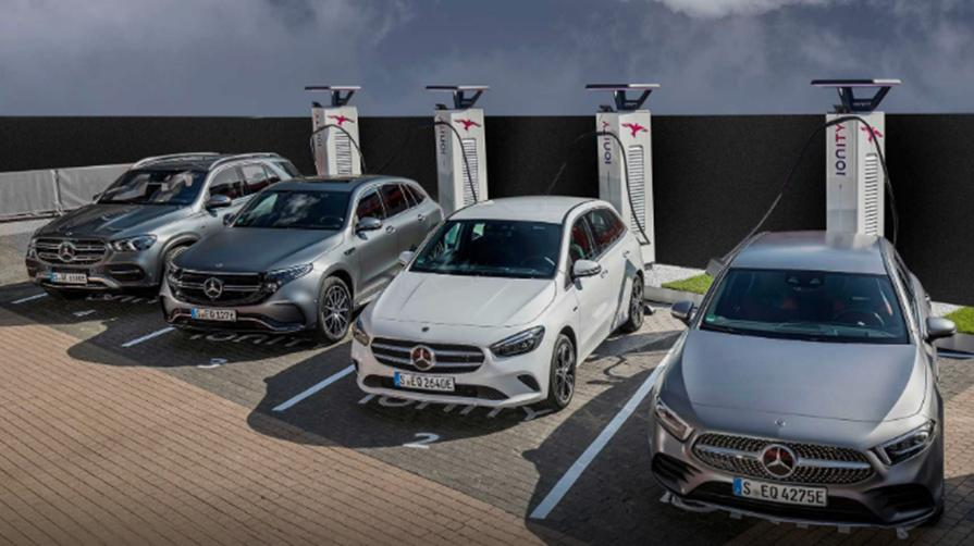 Mercedes me Charge提供300,000个充电点的使用权