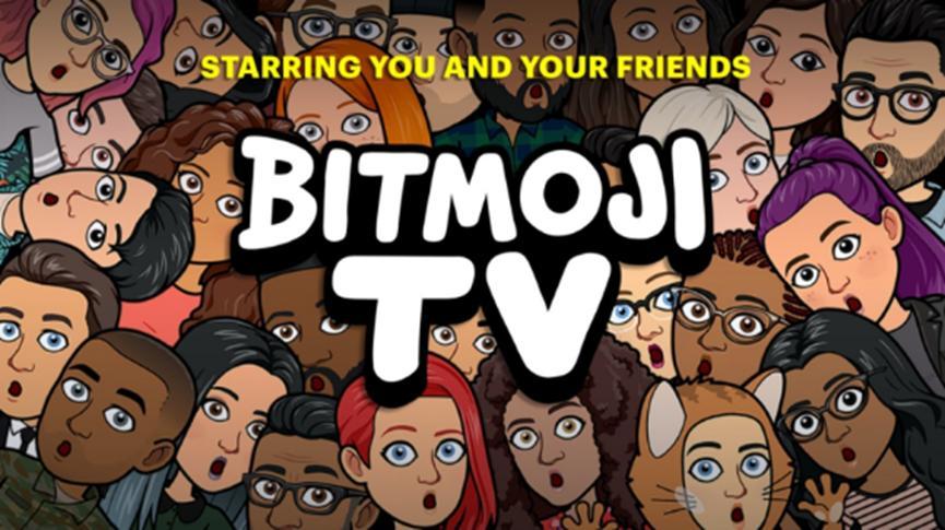 Bitmoji TV是由您的头像主演的喜剧剪辑系列