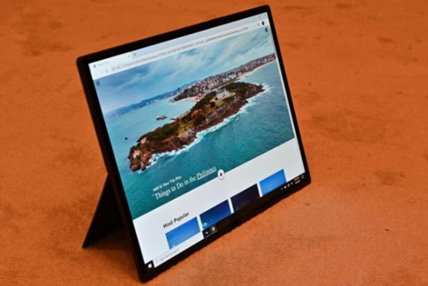 英特尔的Horseshoe Bend是具有折叠显示屏的大型17英寸平板电脑原型
