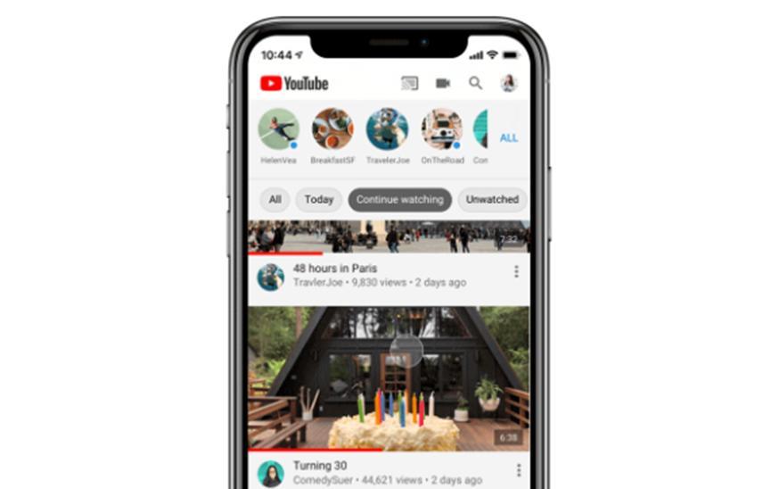 更新到iOS YouTube应用程序会添加有用的新工具