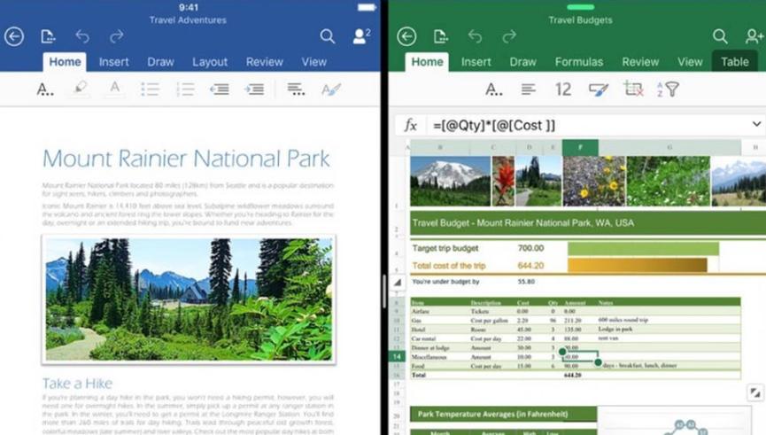 微软为iOS刷新Word Excel和Powerpoint