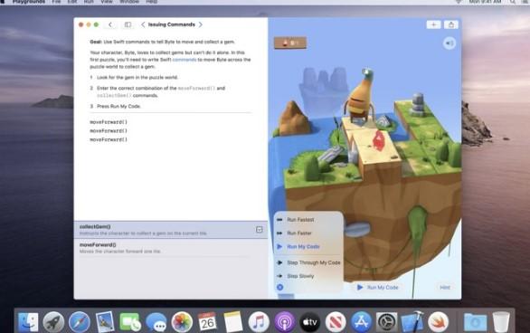 科技资讯:Swift Playgrounds的Catalyst版本在Mac App Store上启动