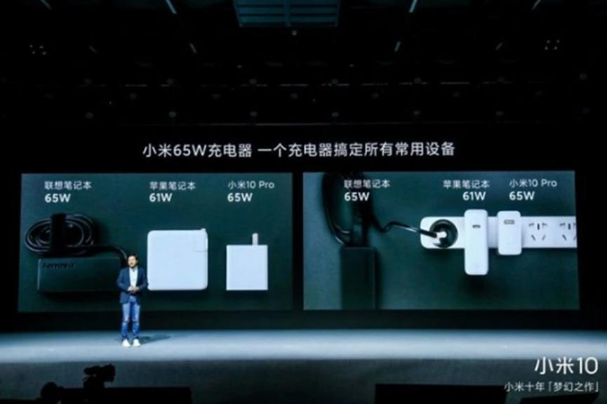 联想Exec表示小米65W PD充电器不错,但3针充电器更适合笔记本电脑