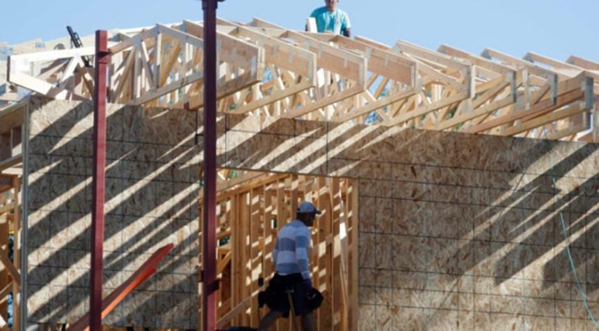 美国房屋建设已达到13年来的最高水平