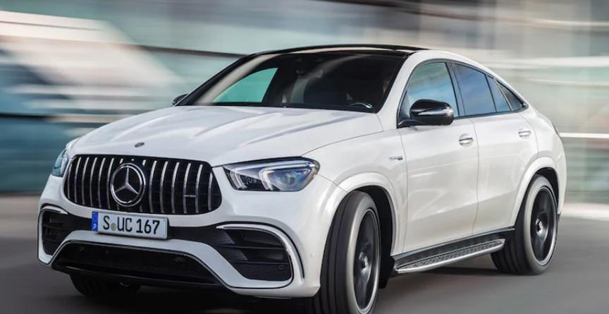 2021 Mercedes-AMG GLE63 S Coupe像603 HP的陨石一样降落