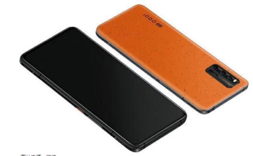 泄漏的照片揭示了iQOO 3 5G的完整规格 橙色变体曲面的渲染