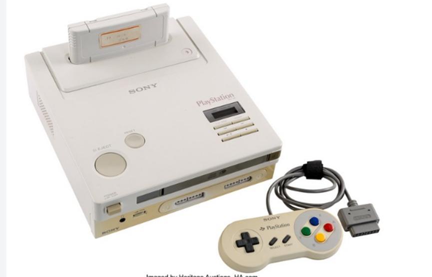 您可以360000美元的价格购买这款同类任天堂PlayStation