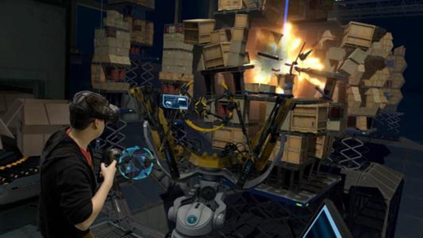 HTC  Vive的新功能可设置游戏分辨率以提高性能