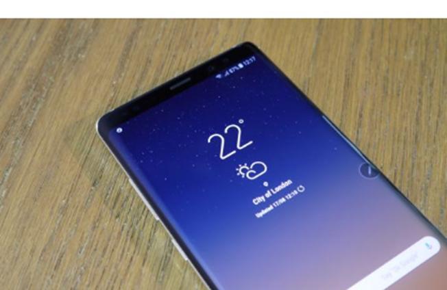 三星Galaxy Note9和华为Mate 11都可以配备屏幕指纹扫描仪
