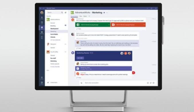 Slack可以从Microsoft获得免费的竞争对手