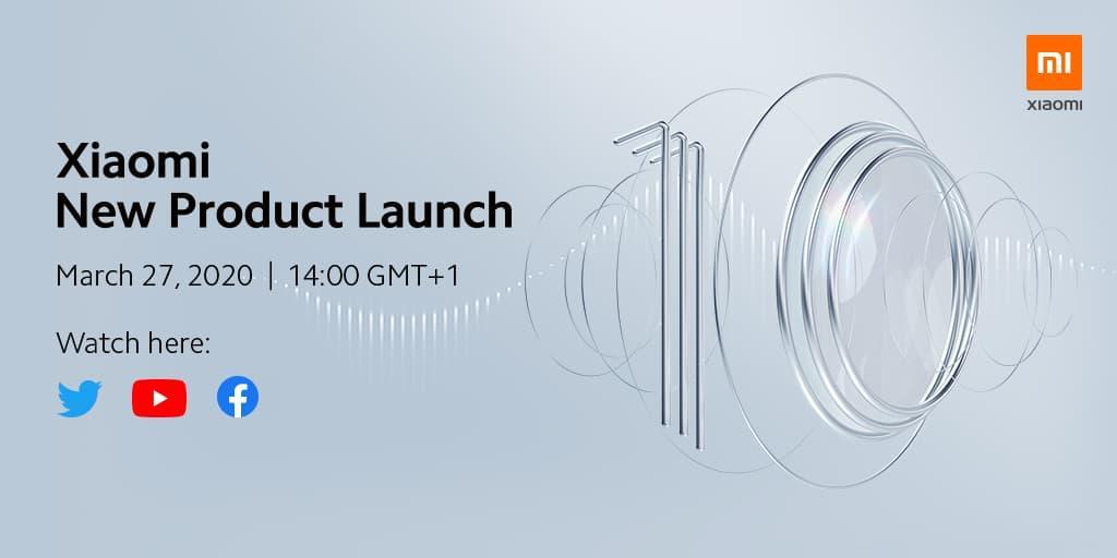 小米 米10全球首发定于3月27日