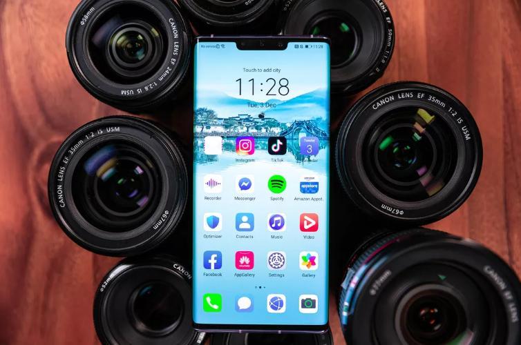 华为P40 Pro预计将配备7个摄像头,10倍光学变焦和5G支持