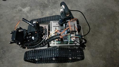 用安卓手机控制树莓派机器人