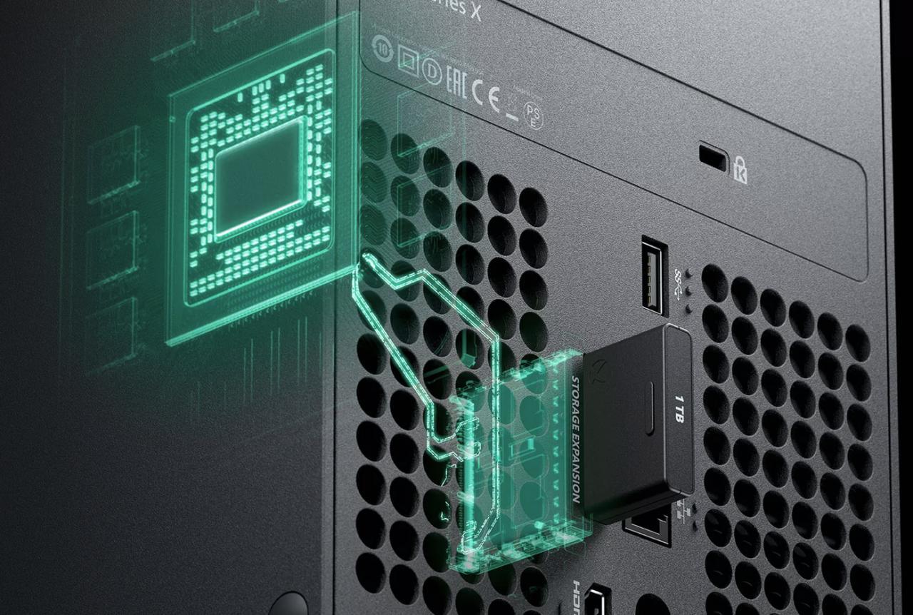 仔细研究Xbox Series X可移动存储系统