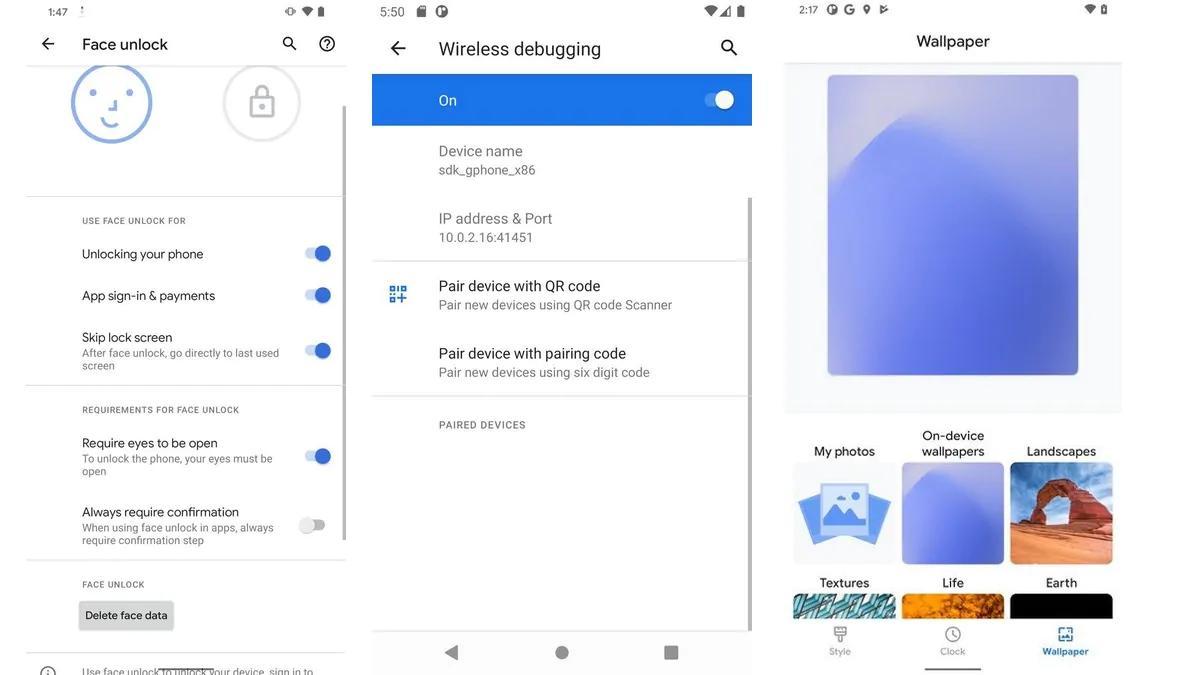 谷歌的第二个安卓 11开发人员预览版改善了人脸解锁系统,增加了许多新功能
