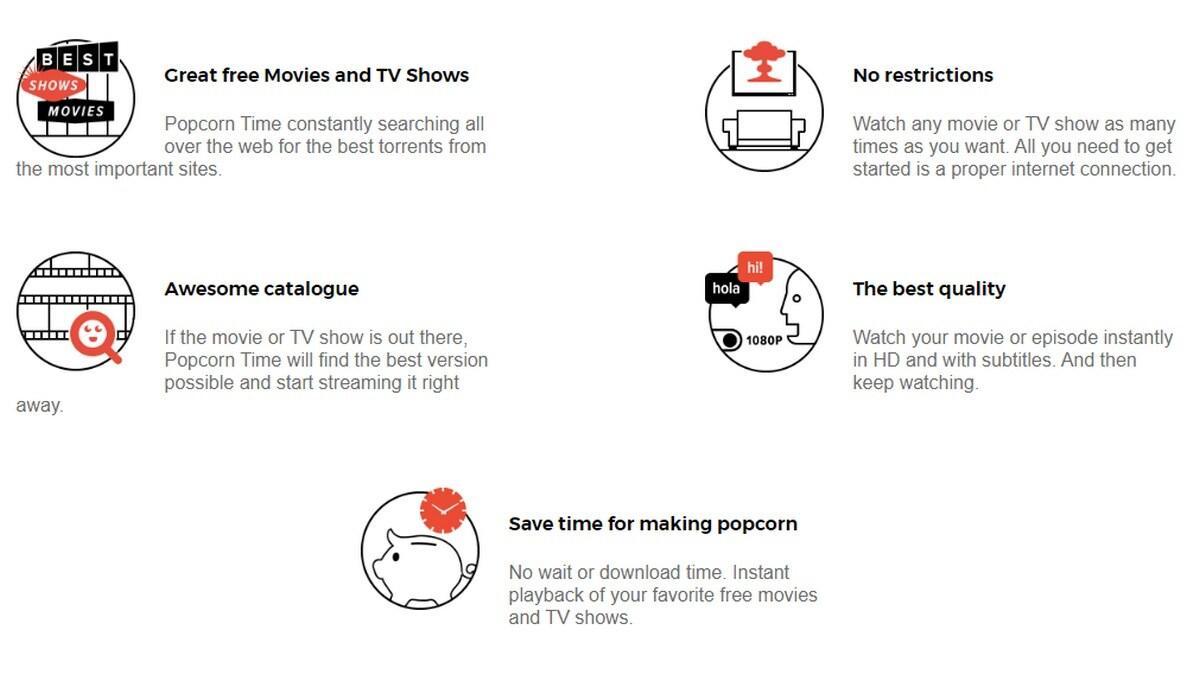 "Popcorn Time""海盗的Netflix""在冠状病毒爆发中重返"