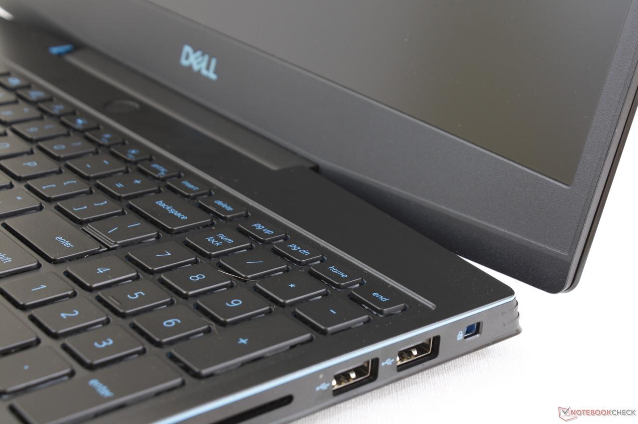 一些戴尔Dell G3 15 3590所有者报告笔记本电脑的铰链薄弱,凸起或损坏