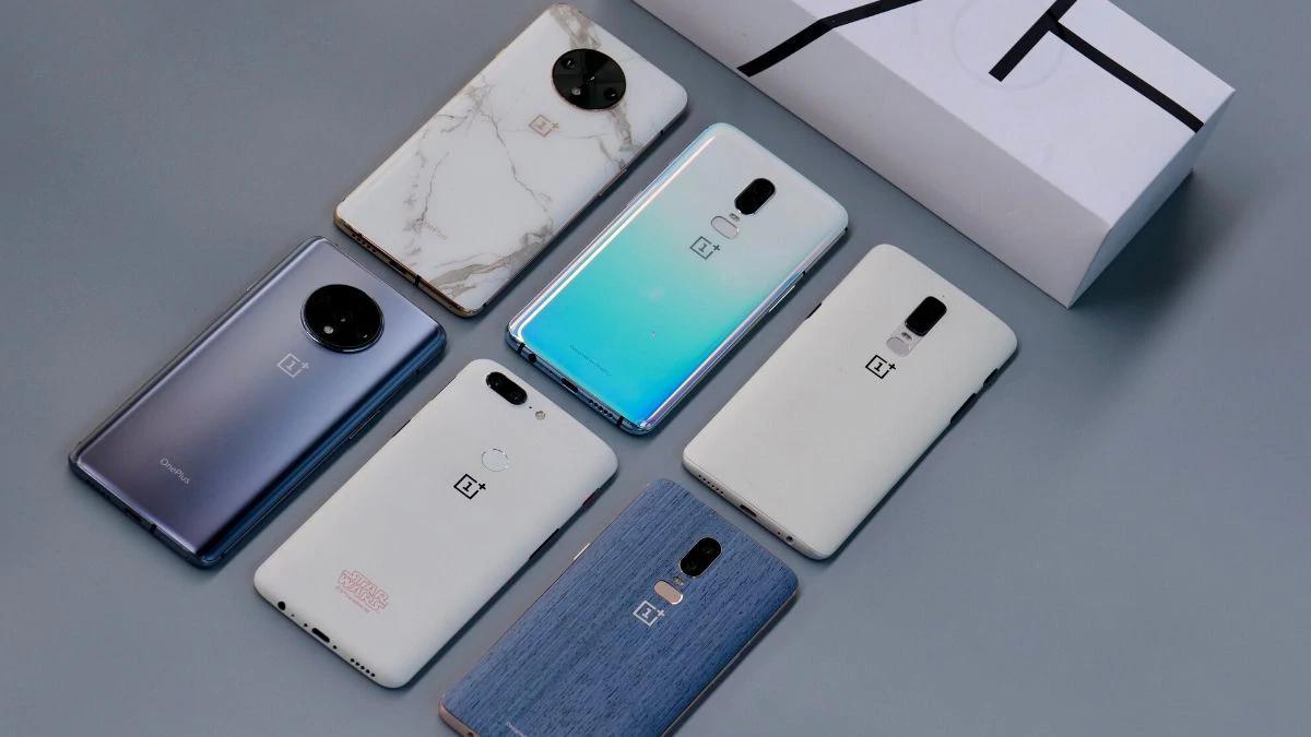 一加OnePlus 7T带有大理石饰面,OnePlus 6采用公司展示的牛仔蓝设计
