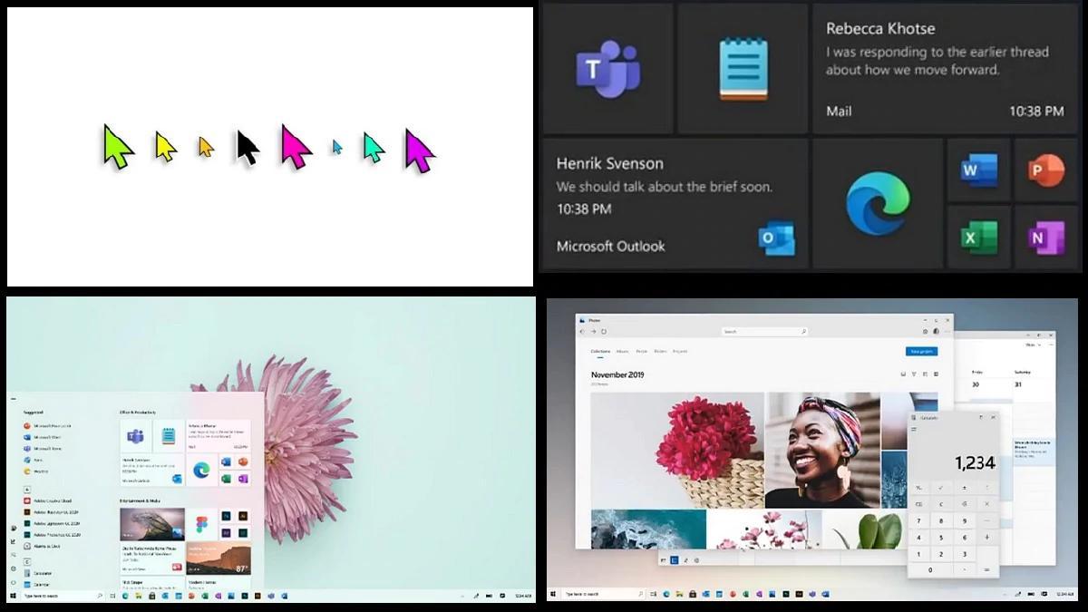 微软Windows 10为10亿用户庆祝的设计革新