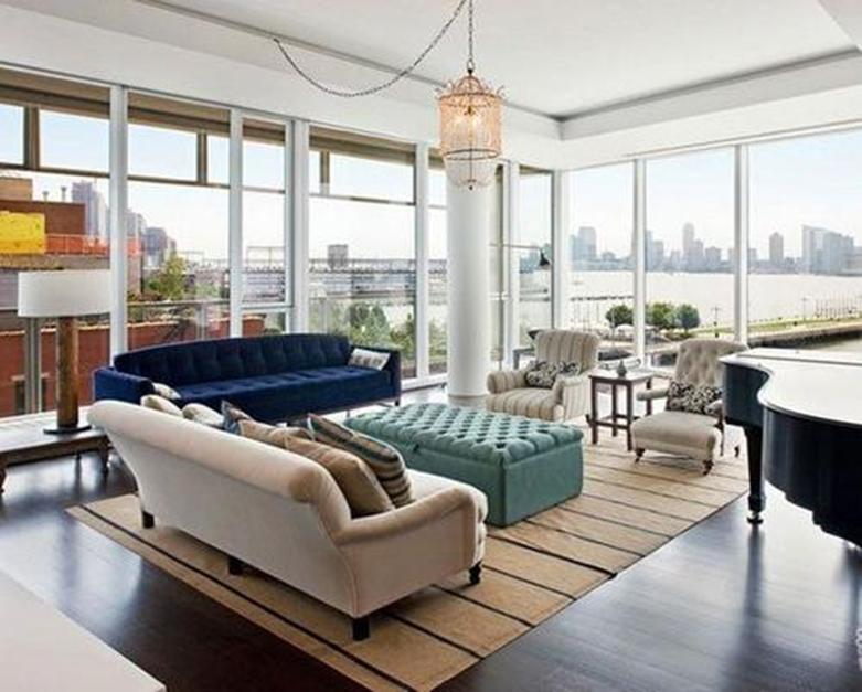 DBKim称之为家的舒适的纽约公寓