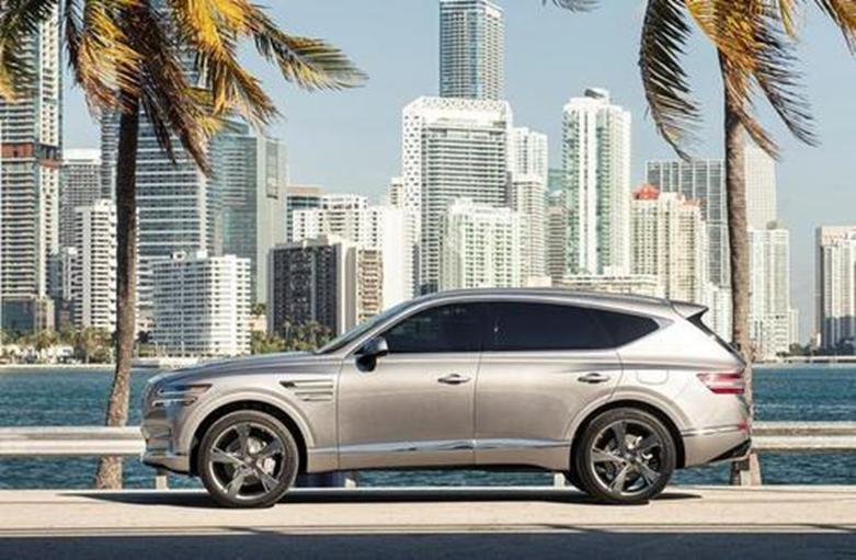 创世纪GV90旗舰SUV渲染看起来像凯迪拉克凯雷德竞争对手