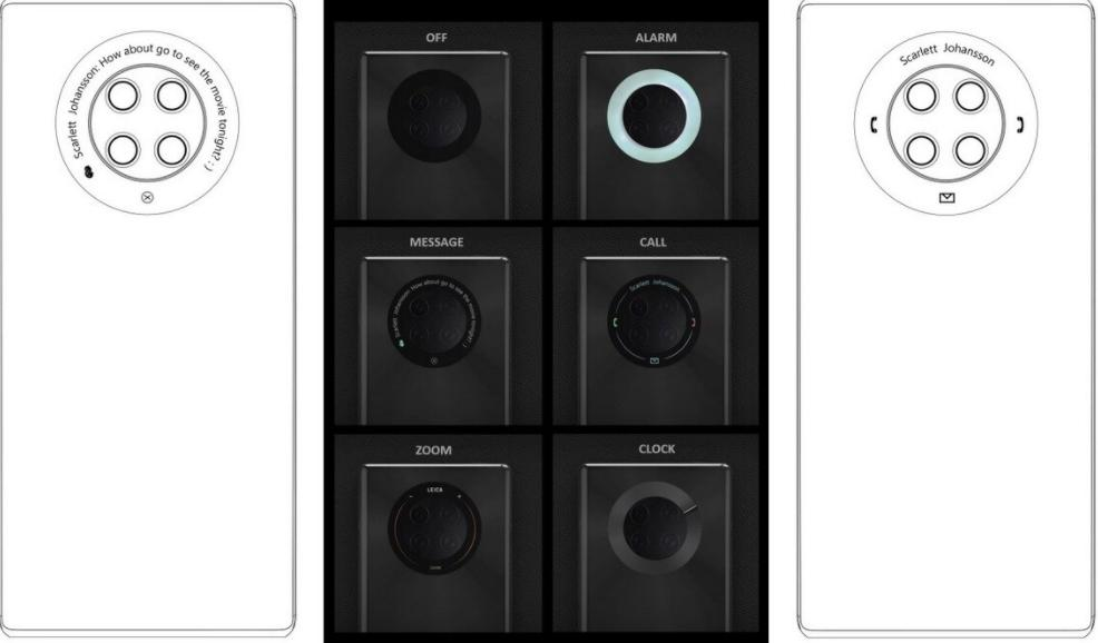 华为Mate 40系列可能在后摄像头周围安装直观的圆形触摸显示屏