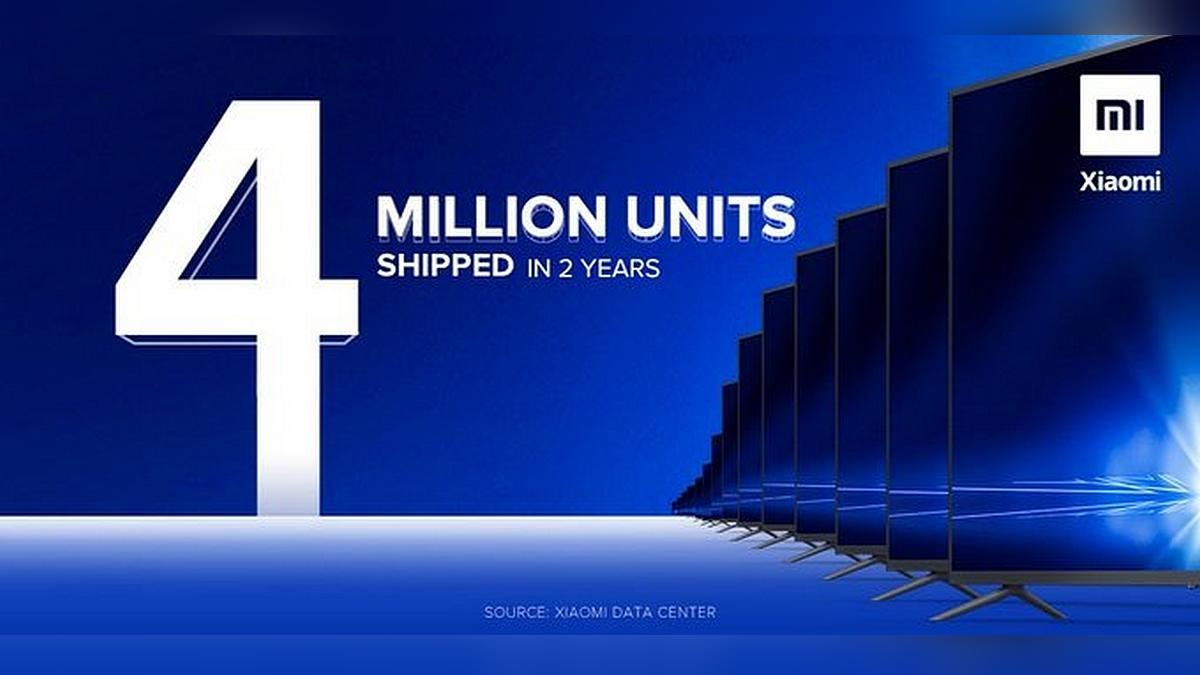 小米宣布,Mi TV的出货量在短短两年内就突破了400万部