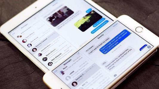iMessage上的苹果商务聊天
