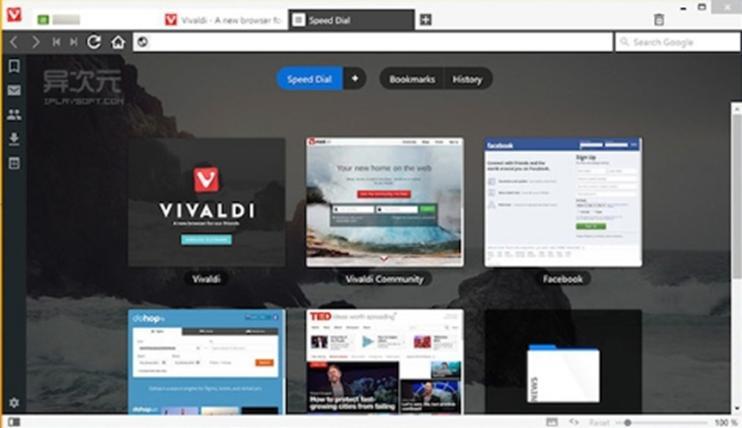 Vivaldi 2.2引入了画中画更智能的标签管理和导航功能