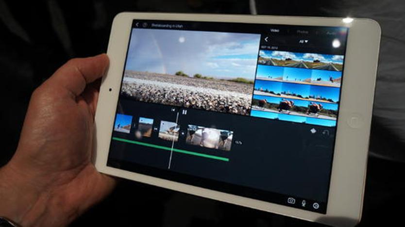 苹果更新iWork和iMovie iPad应用 支持鼠标和触摸板