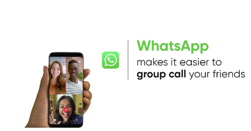 如何一键点击即可在WhatsApp上进行群组视频通话