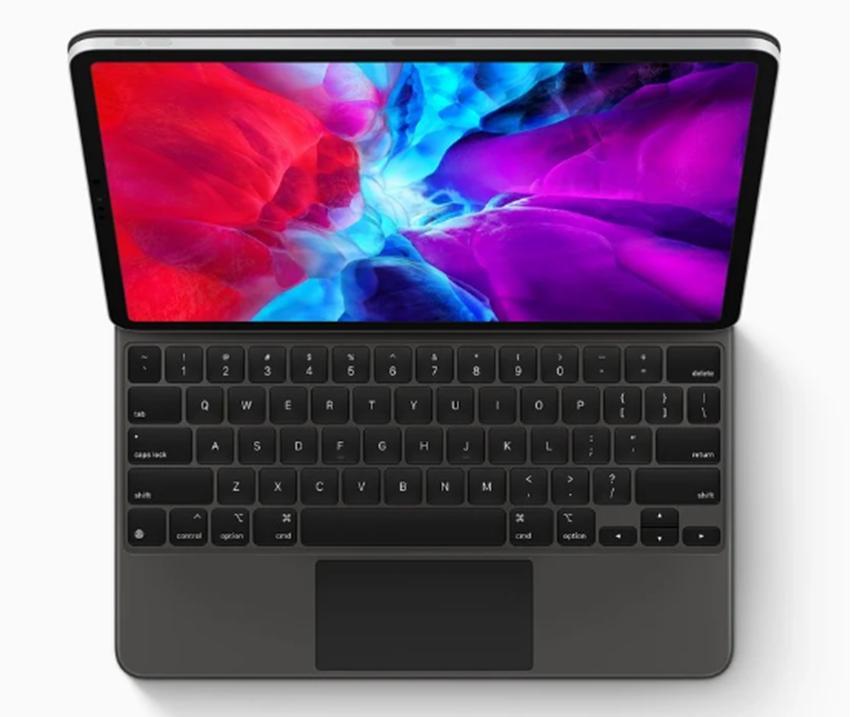 苹果对iPad Pro的Magic Keyboard的第一个反应在这里