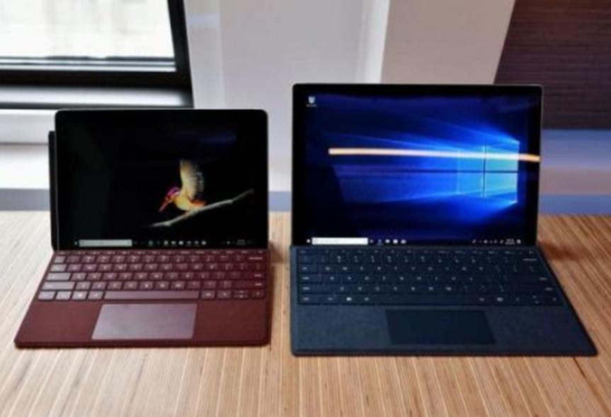 Surface Go 2泄漏已经开始 查看第一个细节