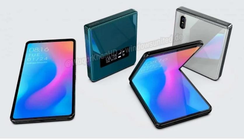 小米将在2020年最终进入翻盖折叠手机领域