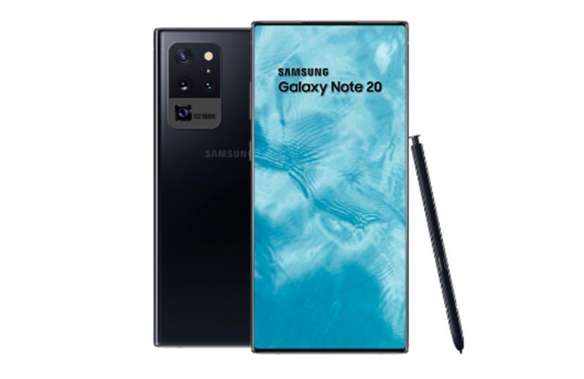 这可能是三星Galaxy  Note  20的设计