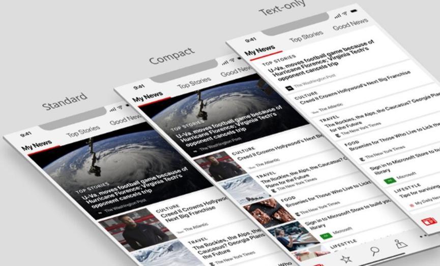 Microsoft新闻应用程序将获得新徽标以及COVID-19新闻