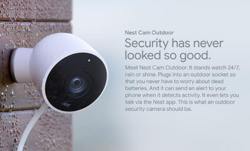 Google降低Nest Cam默认质量以节省带宽