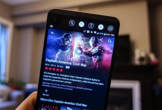 Netflix在其Android应用中添加了屏幕锁定功能