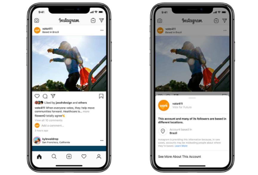 Facebook将位置信息直接添加到Pages和Instagram帖子中