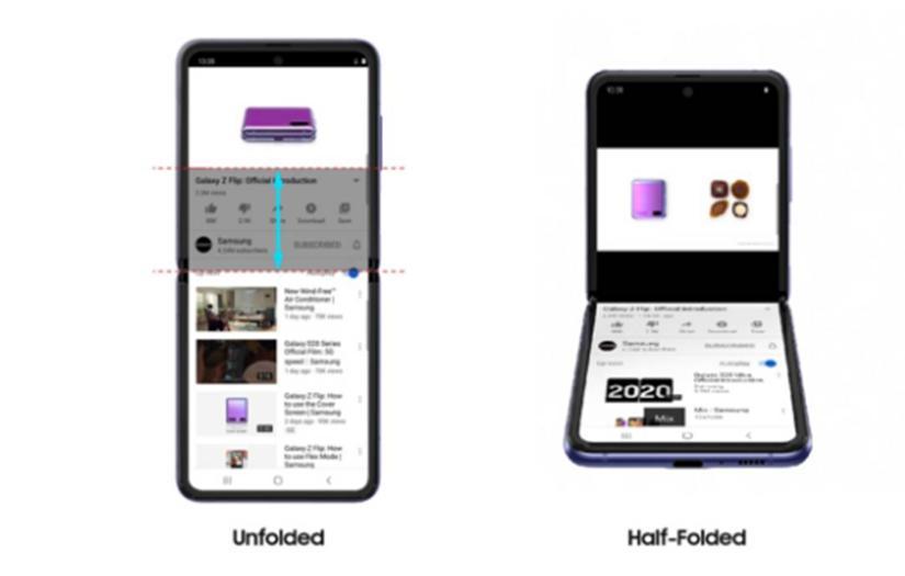 Galaxy Z Flip YouTube Flex模式支持可能仅仅是开始