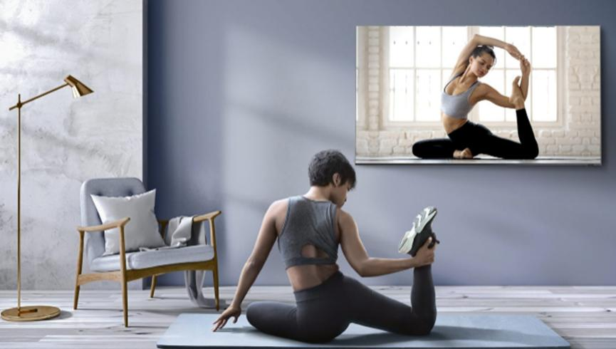 三星在其智能电视阵容中增加了六个新的健身应用程序