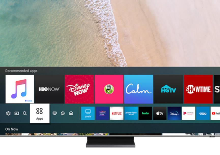 苹果音乐应用程序到达三星智能电视