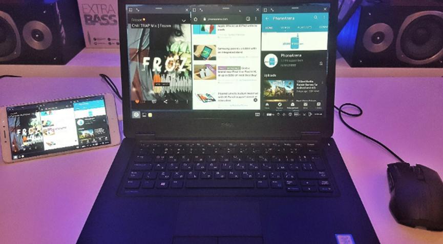 如何在键盘和鼠标支持下将Android手机屏幕免费镜像到PC